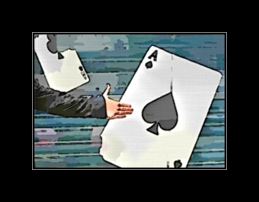 """...and here's your card: the Ace of Spades!"""